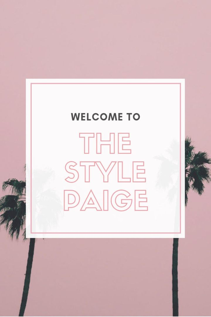 The Style Paige – Relaunch